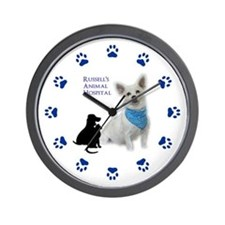 Personalized Animal Hospital Wall Clock