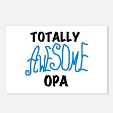 Totally Awesome Opa Postcards (Package of 8)