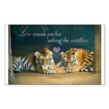 Tiger Love Decal