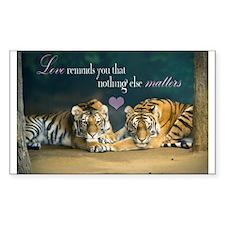 Tiger Love Stickers
