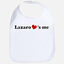 Lazaro loves me Bib