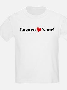 Lazaro loves me Kids T-Shirt