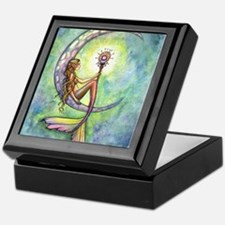 Mermaid Moon Fantasy Art Keepsake Box