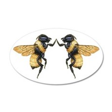 Dancing Bees Wall Decal
