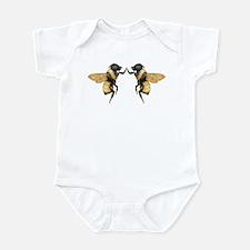 Dancing Bees Infant Bodysuit