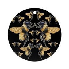 Dancing Bees Ornament (Round)
