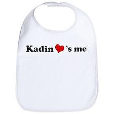 Kadin loves me Bib