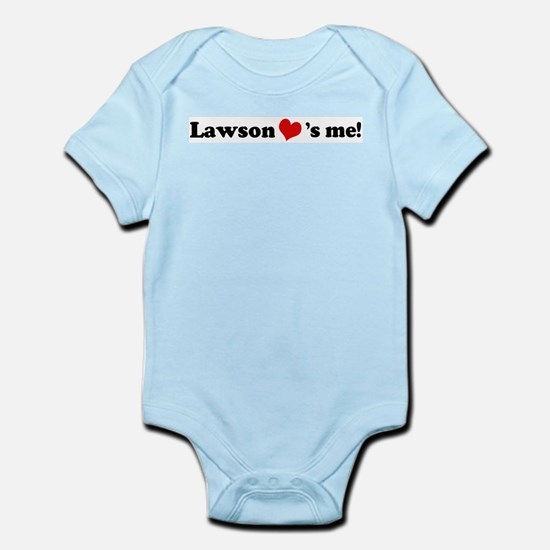 Lawson loves me Infant Creeper