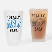 Totally Awesome Baba Drinking Glass
