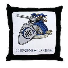Louis The Crusader Throw Pillow