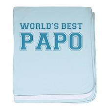 World's Best Papo baby blanket