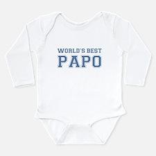 World's Best Papo Long Sleeve Infant Bodysuit
