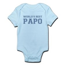 World's Best Papo Infant Bodysuit