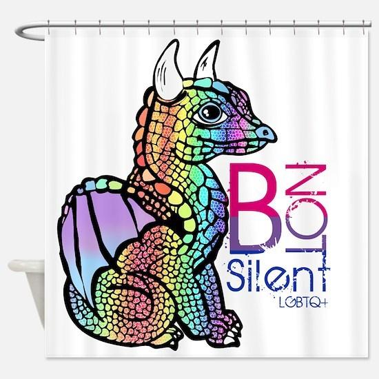 Cute Bisexual Shower Curtain