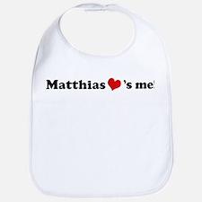 Matthias loves me Bib