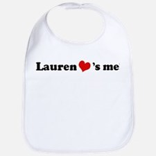 Lauren loves me Bib