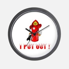 I Put Out! Wall Clock