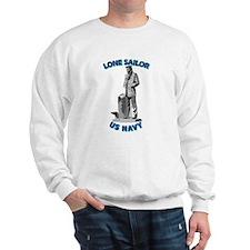 Navy - Lone Sailor - 3D Sweatshirt