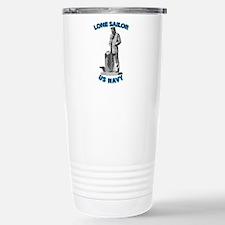Navy - Lone Sailor - 3D Travel Mug