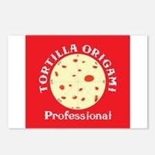Tortilla Origami Postcards (Package of 8)
