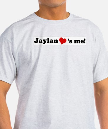 Jaylan loves me Ash Grey T-Shirt