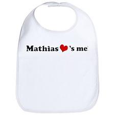 Mathias loves me Bib
