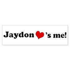Jaydon loves me Bumper Bumper Sticker