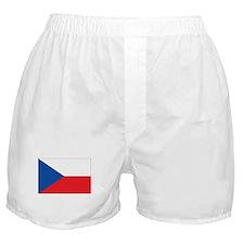 Czech Republic Flag Boxer Shorts