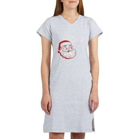 Who's Your Santa Women's Nightshirt