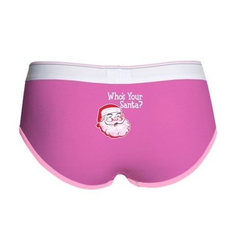 Who's Your Santa Women's Boy Brief
