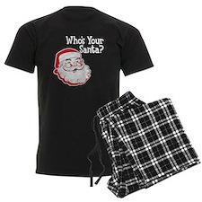 Who's Your Santa Pajamas