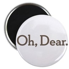 "Oh Dear 2.25"" Magnet (10 pack)"