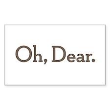 Oh Dear Decal