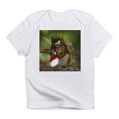 Squirrel Christmas Infant T-Shirt
