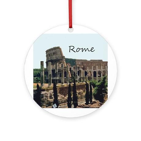 Rome Ornament (Round)