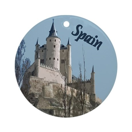 Spain Ornament (Round)