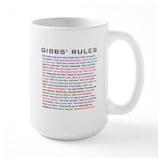 NCIS Gibbs' Rules Mug