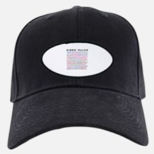 NCIS Gibbs' Rules Baseball Hat