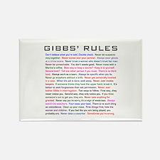 NCIS Gibbs' Rules Rectangle Magnet (10 pack)