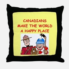 canadians Throw Pillow