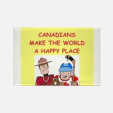 canadians Rectangle Magnet