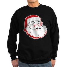 Happy Santa Face Sweatshirt