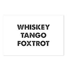 Wiskey Tango Foxtrot Postcards (Package of 8)