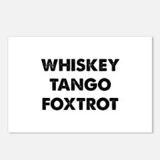 Wiskey Tango Foxtrot Postcards (Package of 8)