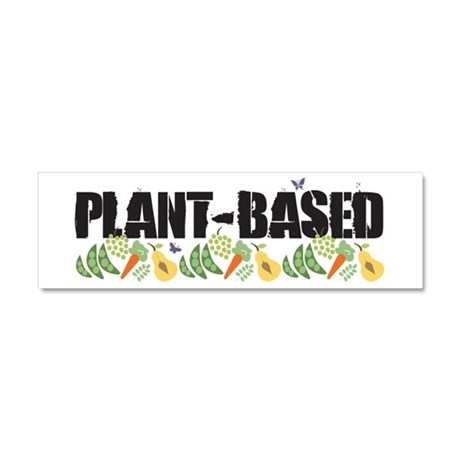 Plant-based Car Magnet 10 x 3