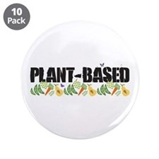 """Plant-based 3.5"""" Button (10 pack)"""