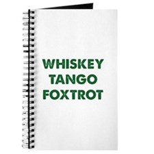 Wiskey Tango Foxtrot Journal