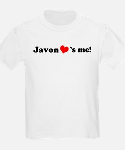 Javon loves me Kids T-Shirt