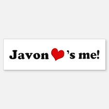 Javon loves me Bumper Bumper Bumper Sticker