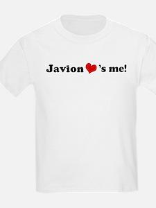 Javion loves me Kids T-Shirt